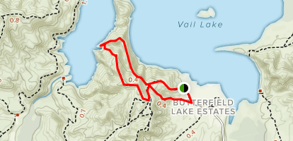 Vail Lake Trail [CLOSED] Map
