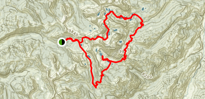 White Cloud Peaks Loop Map