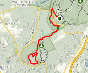 New Jersey Brigade Trail (Patriot's Path) Map