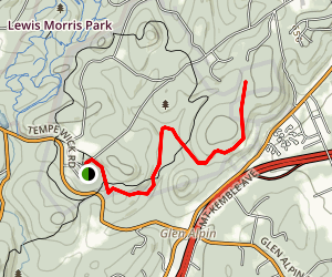 Mount Kemble Trail Map