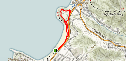 Rockaway Point Trail Map
