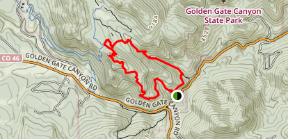 Black Bear Trail to Ralston Roost Map