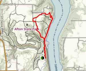 North River Trail Loop Map
