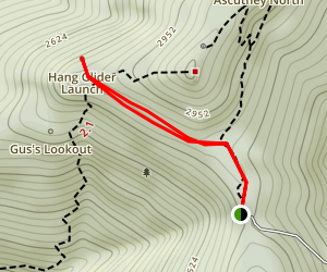Hang Glider Trail Map
