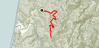 Lost Man Creek Trail Map