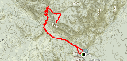 Granite Mountain Trail Map