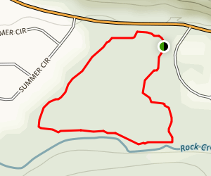 Spring Branch Trail Map