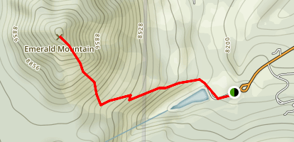 Emerald Mountain Trail Map