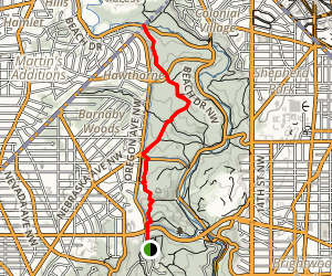 Western Ridge Trail Map