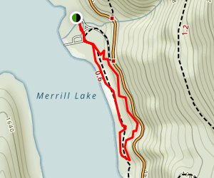 Merrill Lake Campground Map