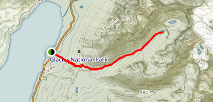Snyder Lake Trail Map