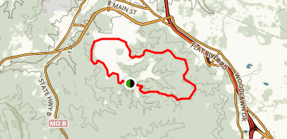 St. Joe State Park Area Trails Map