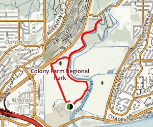 Sheep Paddocks Loop Trail Map