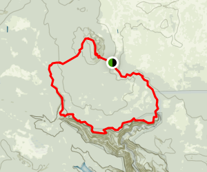 Sycamore Rim Trail Map