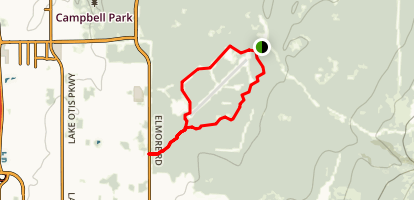 Campbell Tract Loop National Recreation Trail Map