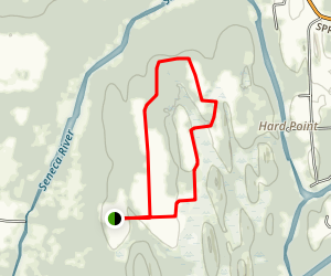 Howland Island Trail Map