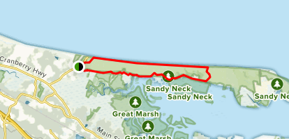 Sandy Neck Nature Trail Map