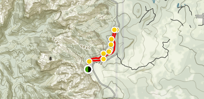 Alpine Pond Trail Map
