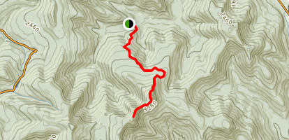 Wittenberg and Cornell Mountains Trail Map