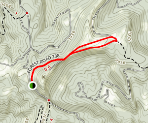 High Knob Loop Map