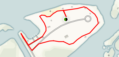 EG Simmons Park and Pelican Cove Area Trails Map
