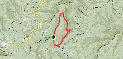Deadman Canyon Loop Trail Map