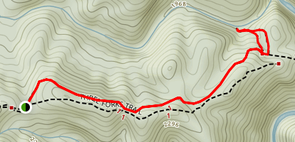 Three Forks Trail Map