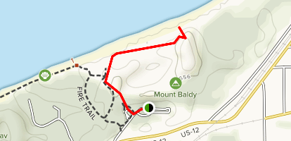 Mount Baldy Trail [CLOSED] Map