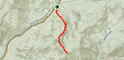 Sandwich Mountain Trail Map