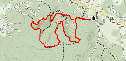 Loop, Rocky Knob, and Plateau Loop Map