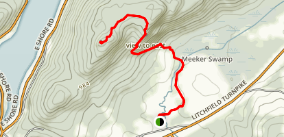 Meeker Trail Map