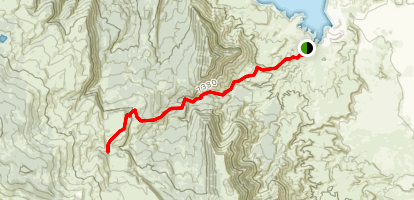 Dry Wash Trail Map