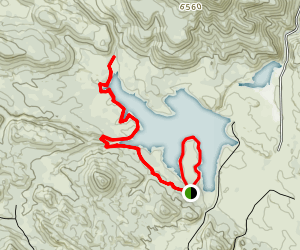 Upper Enterprise Reservoir Map
