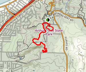 McKellar Circuit and Kings Falls Circuit Map