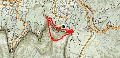 Hipocrene and Vera Falls Loop Trail Map