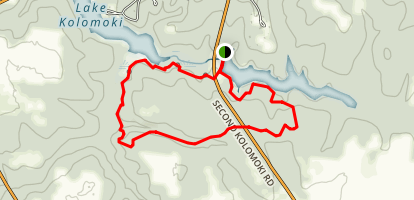 Spruce Pine Trail Map