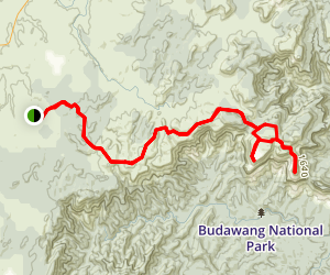 The Northern Budawang Range: Castle and Corang Peak Trail Map