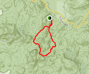 The Breadknife Trail Map