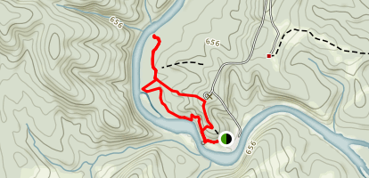 Sprewell Bluff Trail  Map
