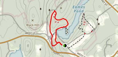 Eames Pond Map
