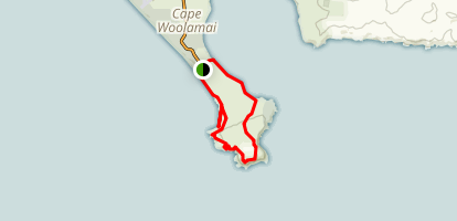 Cape Woolamai Trail Map