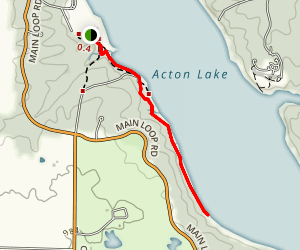 West Shore Trail Map