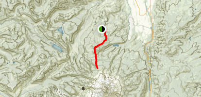 Mount Hood, Barrett Spur  Map