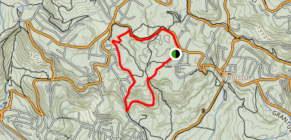 Sherbrooke Falls Loop Map