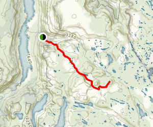 Mount Jerusalem Trail Map