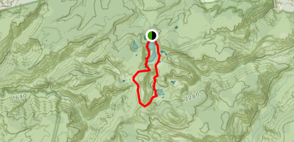 Cradle Moutain Loop Trail to Lake Rodway and Dove Lake Map