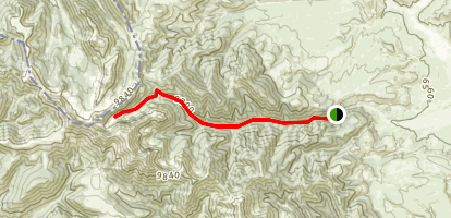 Webber Creek Trail Map