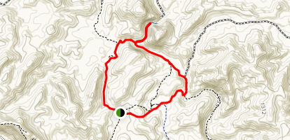 Arkaroola Creek Trail Map