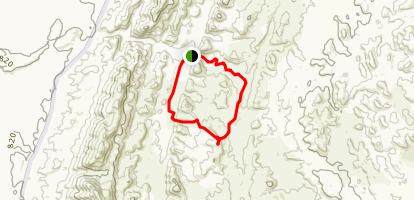 ABC Range Trail to Bunyeroo Lookout Map