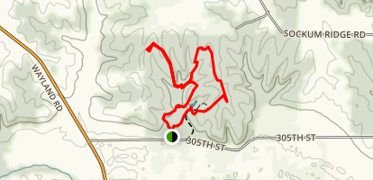 Sockum Ridge Park Trails Map